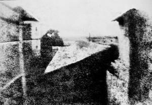 """""""Вид из окна"""" 1826 год"""