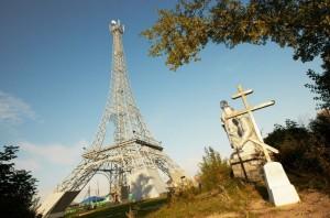 Челябинский Париж, Эйфелева башня