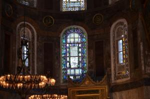 Витражи в Святой Софии
