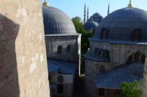 Из окна Святой Софии