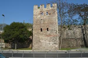 Крепостные стены Константинополя, ныне Стамбула