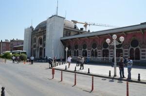 Европейский вокзал Стамбула