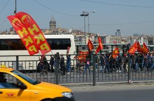 Первомай в Стамбуле