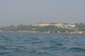 Стамбул, вид с Босфора