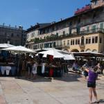 Piazza Delle Erbe - рынок