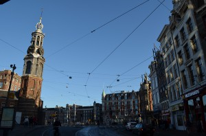Амстердам утром