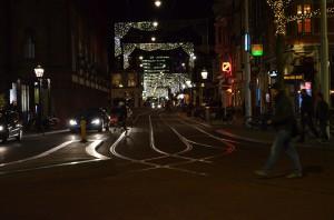 Ночной Амстердам