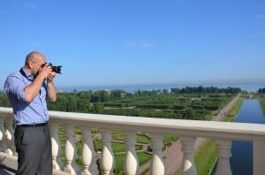Фотограф в Стрельне