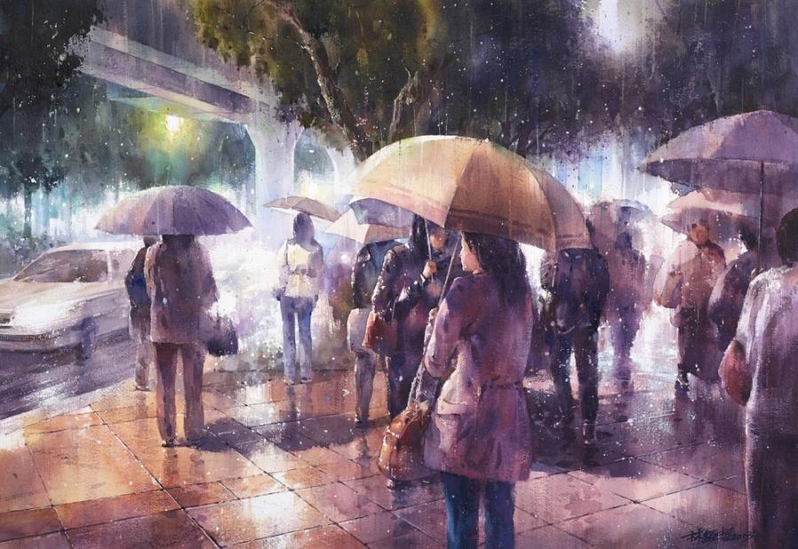 Картинки дождливой осени в хорошем качестве
