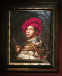Портрет юного художника