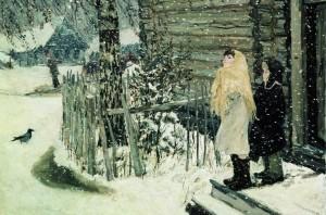 """Пластов """"Первый снег"""""""