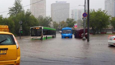 15 августа 2016,  Москва,  наводнение