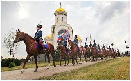 Казаки в Париже. Москва - Париж 1814 - 2012