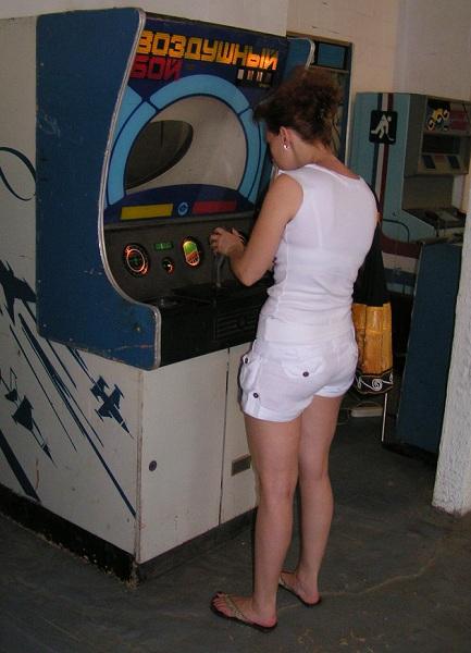 воздушный бой - игровой автомат