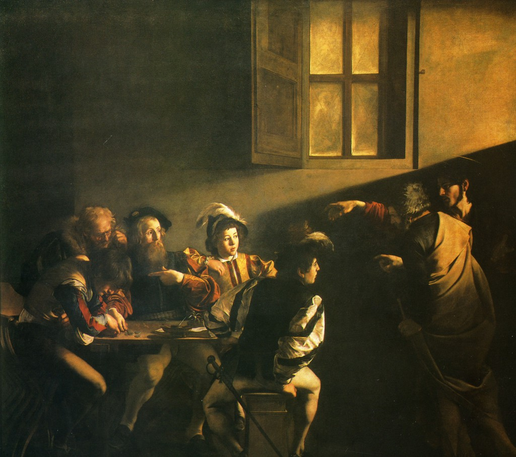 Караваджо - Призвание  Матфея