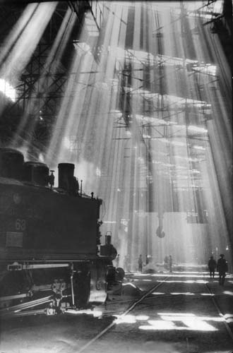 А. Скурихин, Солнечный цех. На стройках первых пятилеток. 1932 год.