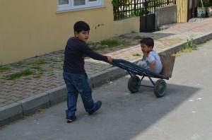Дети из богатых кварталов