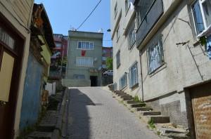 Крутые холмы Стамбула