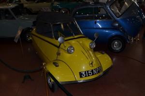 Забытая автомобильная марка Messerschmitt