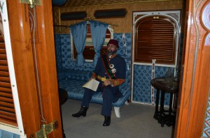 Вагон султана внутри