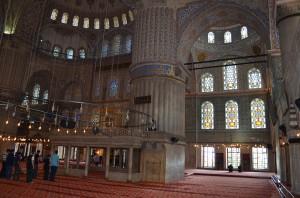 Внутри Султанахмет