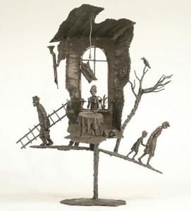 Андрей Волков, скульптура