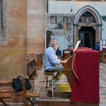 Органист в Церкви Святой Анастасии Вероны