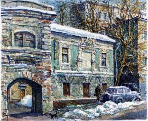Зорин,  Печатников переулок, 2013 год