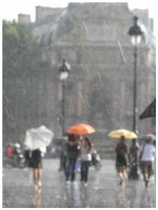 Дождливо...