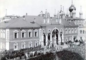 Чудов монастырь во время коронации Николая II
