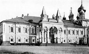 Чудов монастырь в Московском Кремле