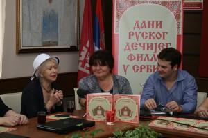 Светлана Немоляева на фестивале