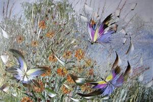 Порхают бабочки, стрекозы...