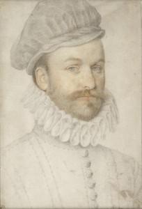 Пьер Дюмустье (дядя),  портрет молодого чнловека (1574)