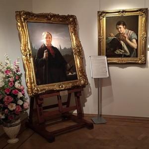 В музее Тропинина