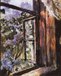 Открытое окно. Сирень (Минск)