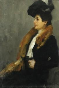 Портрет Анны Гиндус (Минск)