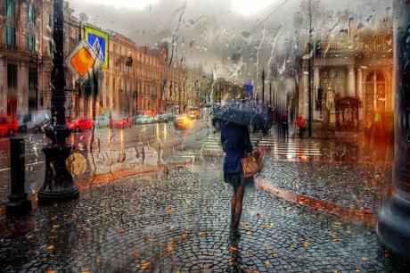 Дождь... О дождях с любовью, эссе и современные стихи Зои Сергеевой