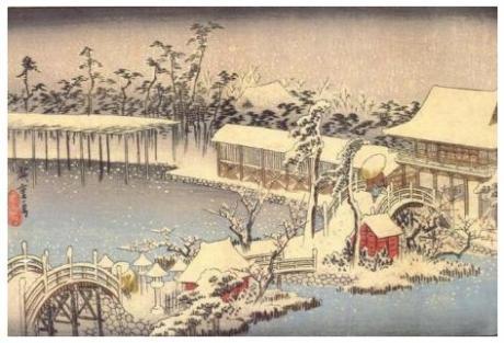 Зима!  Японские стихи о зиме